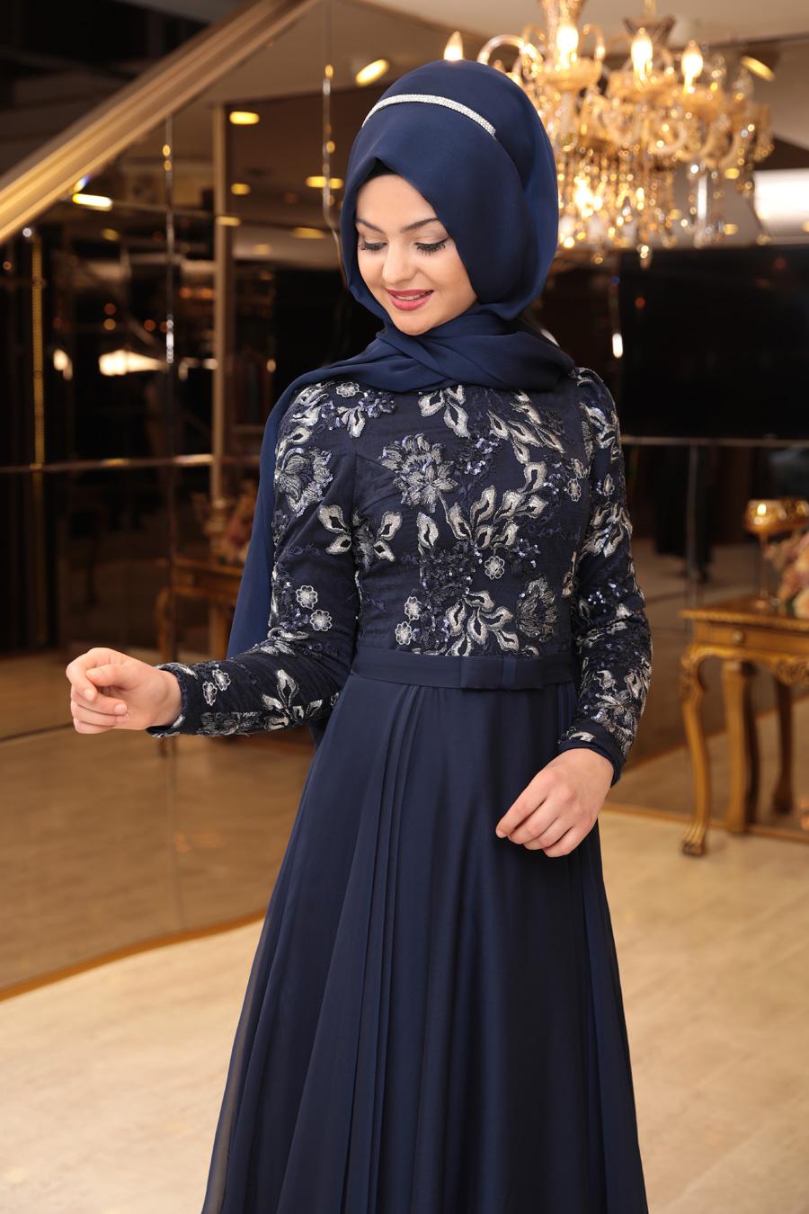 fdcb5da021de7 Pınar Şems - Melike Abiye - Lacivert